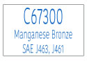 C67300 Leaded Silicon Manganese Bronze