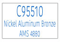 C95510 Nickel Aluminum Bronze AMS 4880 Information Page