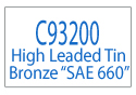 C93200 Bronze Alloy Information Page