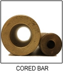 SAE 841 Sintered Bronze Cored Bar