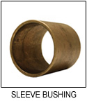 SAE 841 Sintered Bronze Sleeve Bushing