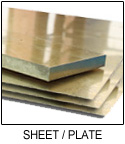 C46400 Naval Brass Sheet Plate Diamond Cut