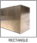 C95400 Aluminum Bronze Rectangle