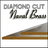 C46400 Diamond Cut Naval Brass Sheet/Plate