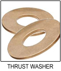 SAE 841 Sintered Bronze Thrust Washer